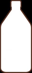 icono botella 1/2 litro aceite Campo Claro