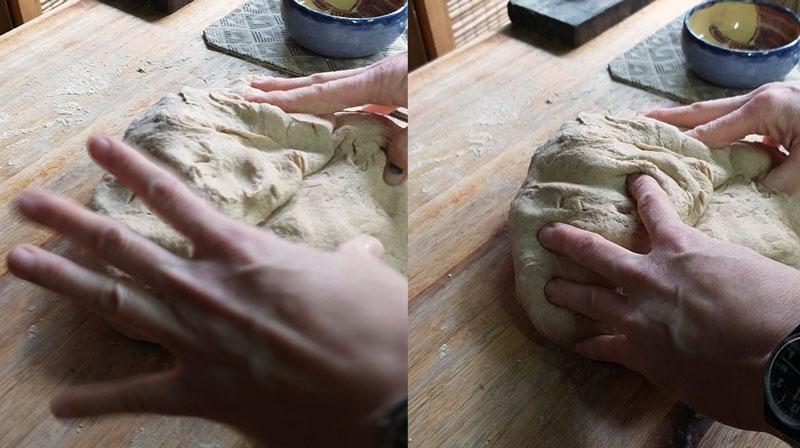 nada más lindo que amasar nuestro propio pan!
